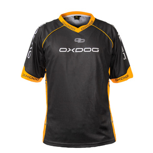 Koszulka OXDOG RACE SHIRT black/orange, Oxdog