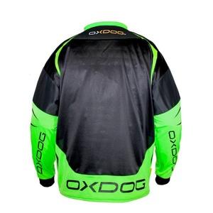 Bramkarzski bluza OXDOG GATE GOALIE SHIRT black/green, Oxdog