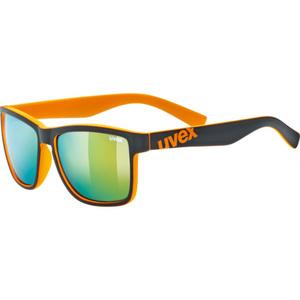 Przeciwsłoneczna okulary Uvex LGL 39 Black Mat Orange (2616), Uvex