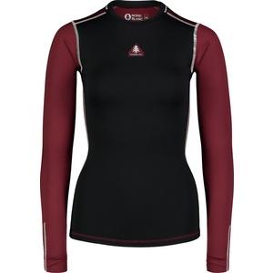 Damskie thermo koszulka Nordblanc PLY czarne NBBLD7097_CRN, Nordblanc