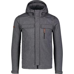Męska ocieplona softshell kurtka Nordblanc Chwyć NBWSM7173_GRA, Nordblanc