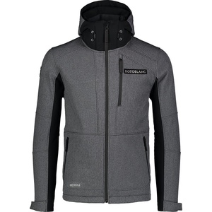 Męska narciarska softshell kurtka Nordblanc Zmagać się NBWSM7322_GRM, Nordblanc