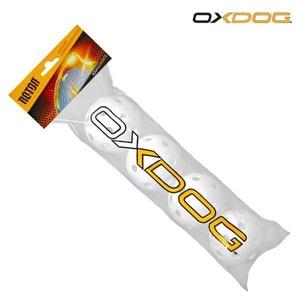 Zestaw unihokejowych piłeczek Oxdog Rotor Ball White Tube, Oxdog