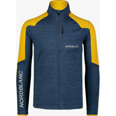 Męska powerfleecową bluza Nordblanc Campshire NBSFM7378_NOM, Nordblanc