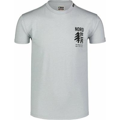 Męska koszula bawełniana Nordblanc SARMY szare NBSMT7390_SSM