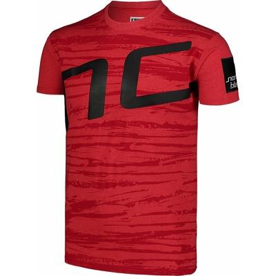 Koszulka męska Nordblanc Iantos czerwony NBSMT7393_TCV, Nordblanc