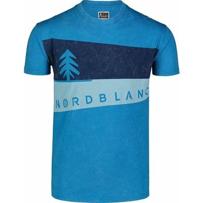 Koszulka męska Nordblanc Graphic niebieski NBSMT7394_AZR, Nordblanc