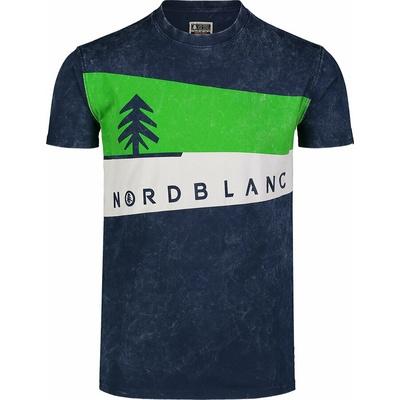 Koszulka męska Nordblanc Graphic ciemnoniebieski NBSMT7394_MOB, Nordblanc