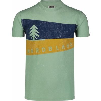 Koszulka męska Nordblanc Graphic czarny NBSMT7394_CRN, Nordblanc