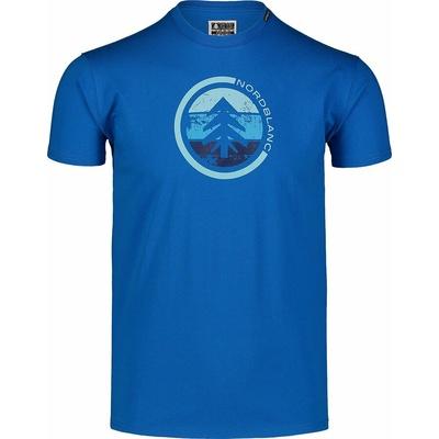 Męska koszula bawełniana Nordblanc TRICOLOR niebieskie NBSMT7397_INM