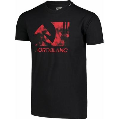 Męska koszula bawełniana Nordblanc TREETOP czarne NBSMT7399_CRN