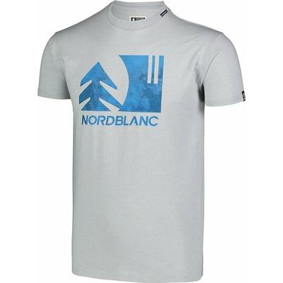 Męska koszula bawełniana Nordblanc TREETOP szare NBSMT7399_SSM