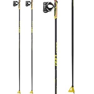 do biegania kije Leki PRC 850 black / antracyt / biały / żółty 6434040, Leki