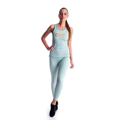 Fitness kobiet podkoszulka Nordblanc Balsam Zielony NBSLF7446_JMZ, Nordblanc