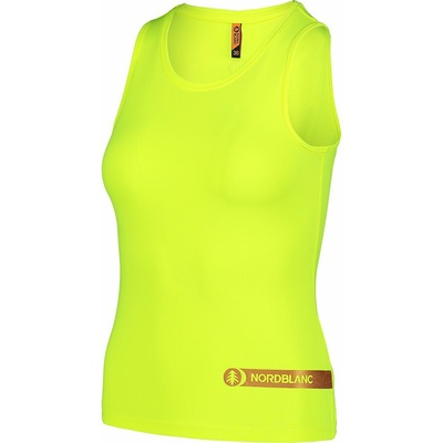 Fitness kobiet podkoszulka Nordblanc Aero żółty NBSLF7447_BPZ, Nordblanc