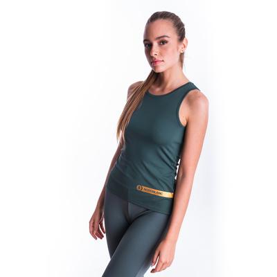 Fitness kobiet podkoszulka Nordblanc Aero Zielony NBSLF7447_TZE, Nordblanc