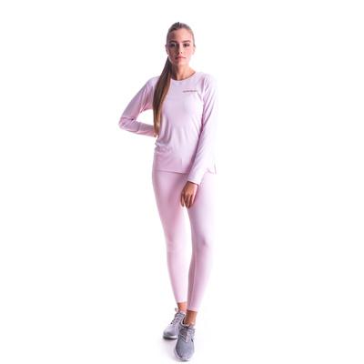 Damskie koszulka fitness Nordblanc Clash różowy NBSLF7448_BRR, Nordblanc