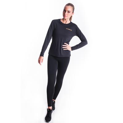 Fitness kobiet koszulka Nordblanc Clash czarny NBSLF7448_CRN, Nordblanc