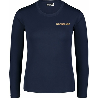 Fitness kobiet koszulka Nordblanc Clash niebieski NBSLF7448_NMM, Nordblanc