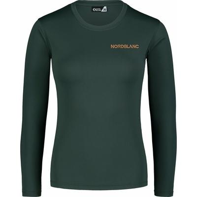 Fitness kobiet koszulka Nordblanc Clash Zielony NBSLF7448_TZE