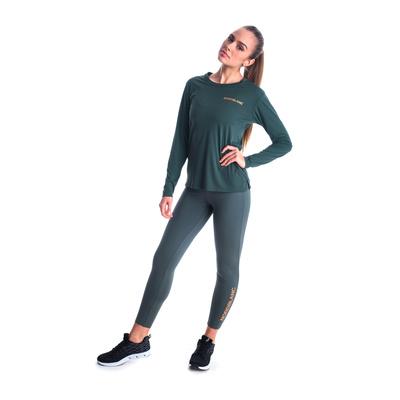 Fitness kobiet koszulka Nordblanc Clash Zielony NBSLF7448_TZE, Nordblanc