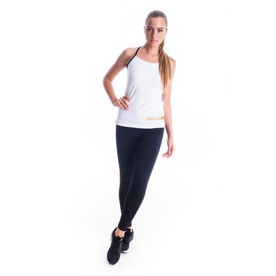 Fitness kobiet podkoszulka Nordblanc Strappy biały NBSLF7449_BLA, Nordblanc