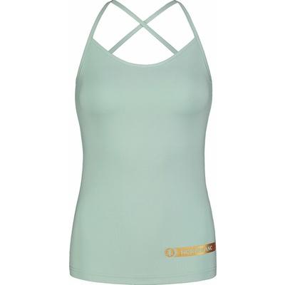 Fitness kobiet podkoszulka Nordblanc Strappy jasnozielony NBSLF7449_JMZ, Nordblanc