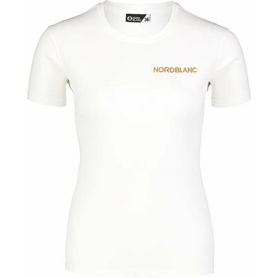 Funkcjonalne dla kobiet koszulka Nordblanc Training biały NBSLF7450_BLA, Nordblanc