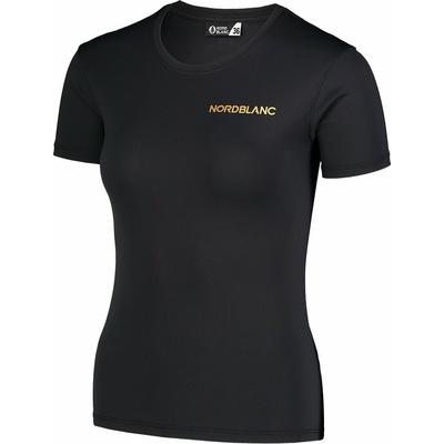 Funkcjonalne dla kobiet koszulka Nordblanc Training czarny NBSLF7450_CRN, Nordblanc