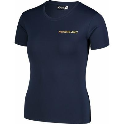 Funkcjonalne dla kobiet koszulka Nordblanc Training niebieski NBSLF7450_NMM, Nordblanc