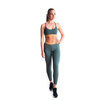 Fitness kobiet legginsy Nordblanc Elastyczność Zielony NBSPL7454_TZE, Nordblanc