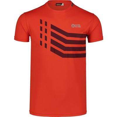 Koszulka męska Nordblanc Stronger Pomarańczowy NBSMF7457_OIN, Nordblanc