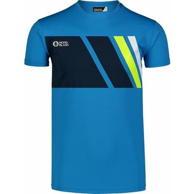 Koszulka męska Nordblanc Legacy niebieski NBSMF7458_AZR, Nordblanc