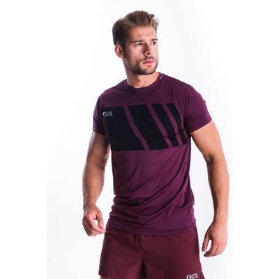 Koszulka męska Nordblanc Legacy purpurowy NBSMF7458_FIP, Nordblanc
