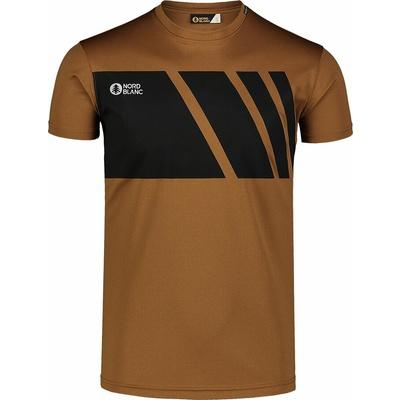 Koszulka męska Nordblanc Legacy brązowy NBSMF7458_PUH, Nordblanc