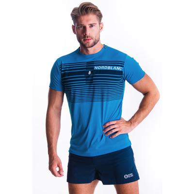 Koszulka męska Nordblanc Gradiant niebieski NBSMF7459_AZR, Nordblanc