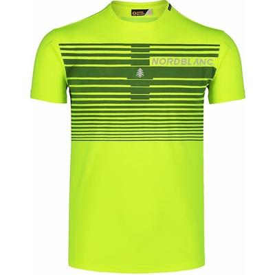 Koszulka męska Nordblanc Gradiant żółty NBSMF7459_BPZ, Nordblanc