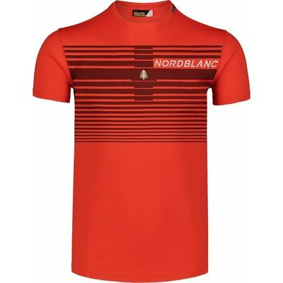 Koszulka męska Nordblanc Gradiant Pomarańczowy NBSMF7459_OIN, Nordblanc