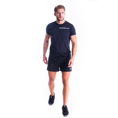 Męska koszulka fitness Nordblanc Rosną czerń NBSMF7460_CRN, Nordblanc