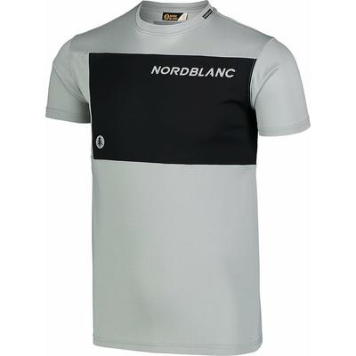 Męska koszulka fitness Nordblanc Grow szary NBSMF7460_SSM, Nordblanc