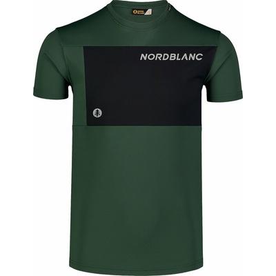 Męska koszulka fitness Nordblanc Rosną czerń NBSMF7460_TZE