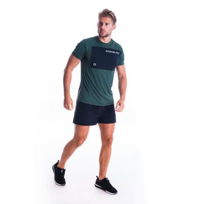 Męska koszulka fitness Nordblanc Rosną czerń NBSMF7460_TZE, Nordblanc