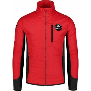 Męska kurtka sportowa Nordblanc Czarny płótno czerwony NBWJM7518_MOC, Nordblanc