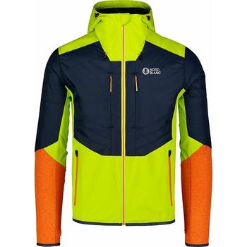 Męska kurtka sportowa Nordblanc Kompozycja zielono-niebieski NBWJM7523_JSZ, Nordblanc