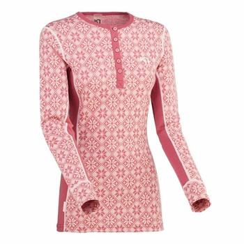 Koszulka Kari Traa Rose LS 622692, różowy, Kari Traa