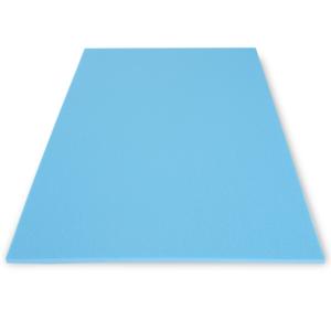Mata samodmuchająca Yate AEROBIC 8mm jasno niebieska B37, Yate