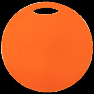 Stołek Yate okrągłe 1 warstwa średnica 350 mm pomarańczowe, Yate