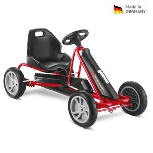 Dziecięca do pedałowania pojazd PUKY Cart AIR F 1L czarny, Puky