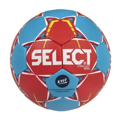 Piłka dla piłki ręcznej Select HB Circuit czerwono-niebieski, Select