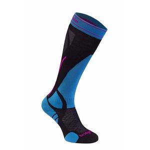 Skarpety Bridgedale Ski Lightweight Women's black/blue/007